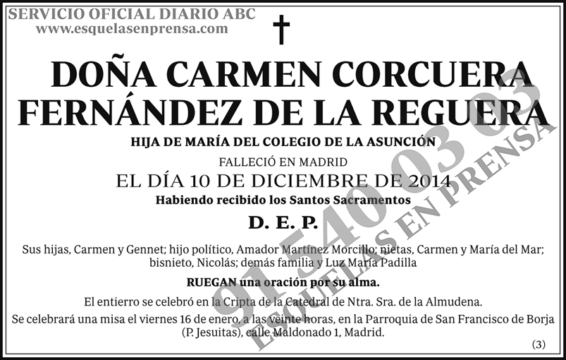 Carmen Corcuera Fernández de la Reguera